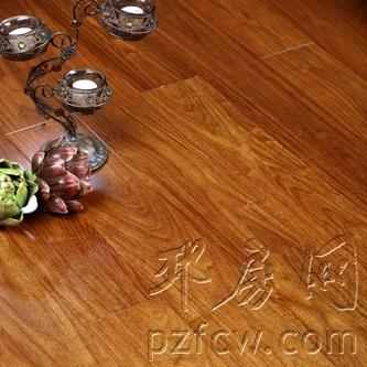 亚花梨纯实木地热地板
