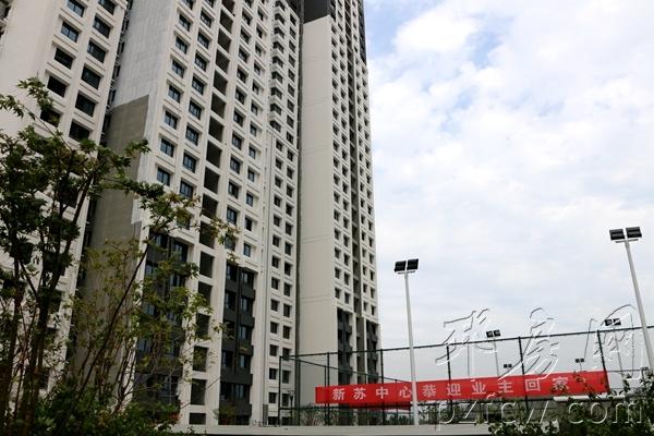 视频:邳州新苏中心一期首批验房