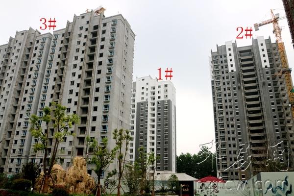 视频:邳州水韵汉府一期准现房1#至3#楼最新工程进度