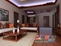 邳州装饰企业  恒安中式风格装饰案例