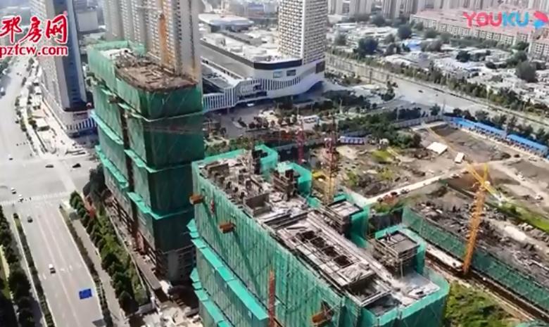 国美首府2019年8月楼盘航拍视频